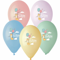 """Μπαλόνια latex Μικρή Αλεπού 13""""  5τεμ"""