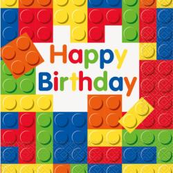 Χαρτοπετσέτες Lego 20 τεμ.