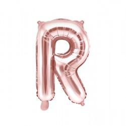 Μπαλόνι Γράμμα R Ροζ-Χρυσό 35εκ