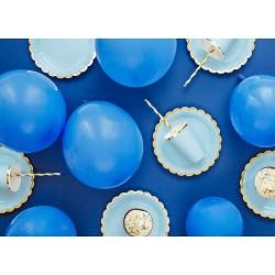 Πιάτα Χάρτινα  Γαλάζια 6 τεμ.