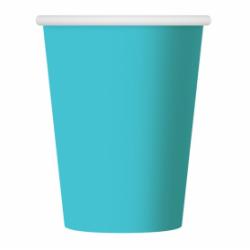 Ποτήρια Χάρτινα  Γαλάζια 270ml 6 τεμ.