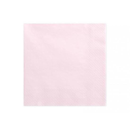 Χαρτοπετσέτες Ροζ 20 τεμ.
