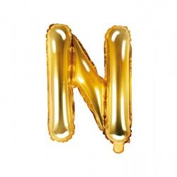 Μπαλόνι Γράμμα N Χρυσό 35εκ