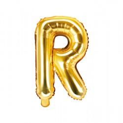 Μπαλόνι Γράμμα R Χρυσό 35εκ