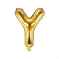 Μπαλόνι Γράμμα Y Χρυσό 35εκ
