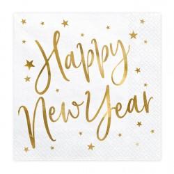 Χαρτοπετσέτες Happy New Year  20τμχ