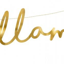 Μπάνερ Llama Χρυσό