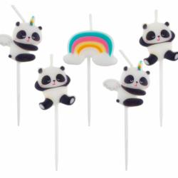 Κεριά Γενεθλίων Dreamy Panda