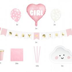 Πάρτυ σετ It's a Girl