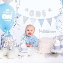 Πάρτυ σετ 1st Birthday Αγόρι