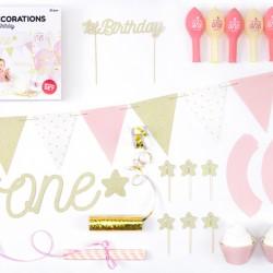 Πάρτυ σετ 1st Birthday Κορίτσι