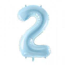 Μπαλόνι Αριθμός 2 Γαλάζιο 86εκ.