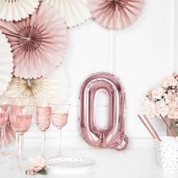 Μπαλόνι Γράμμα Q Ροζ-Χρυσό 35εκ