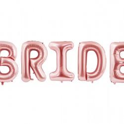 Foil Μπαλόνι Bride  Ροζ-Χρυσό 86 εκ.