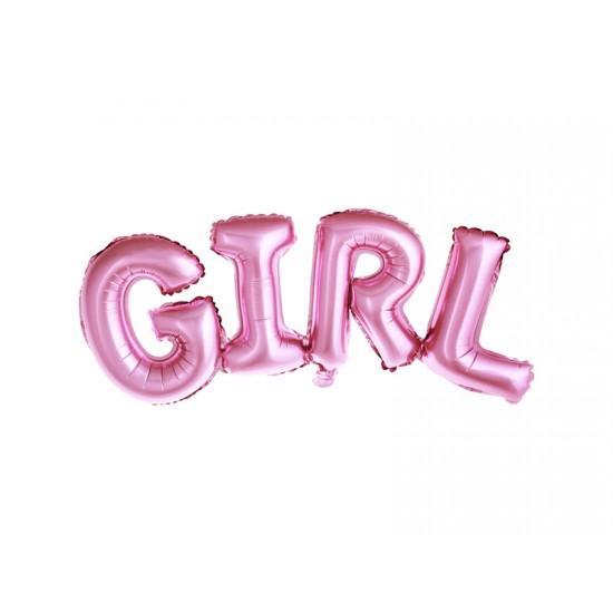 Foil Μπαλόνι Girl Ροζ