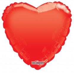 "18"" foil Καρδιά  Κόκκινο Gellibean"