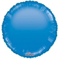 """18"""" foil στρογγυλό Μπλε Gellibean"""