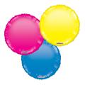Μπαλόνια Foil μονόχρωμα