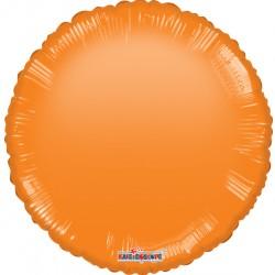 """18"""" foil  στρογγυλό Πορτοκαλί Gellibean"""