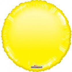 """18"""" foil στρογγυλό Κίτρινο Gellibean"""