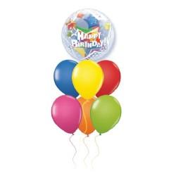 Μπουκέτο μπαλονιών Happy Birthday