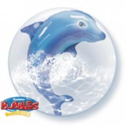 Μπαλόνι Double Bubble Δελφίνι