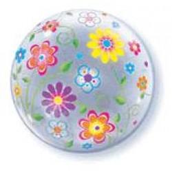 Μπαλόνι  Bubble  Λουλούδια