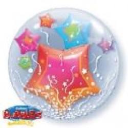 Μπαλόνι Double Bubble  Αστέρια
