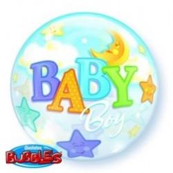 Μπαλόνι  Bubble Baby Boy