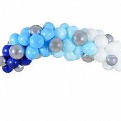 Γιρλάντα Μπαλονιών DIY Μπλέ 200εκ