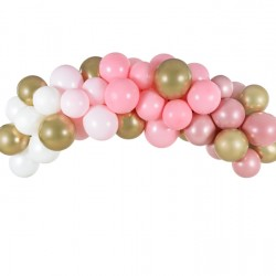 Γιρλάντα Μπαλονιών DIY Ρόζ 200εκ