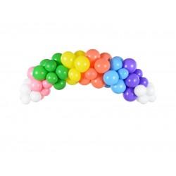 Γιρλάντα Μπαλονιών DIY Rainbow 200εκ