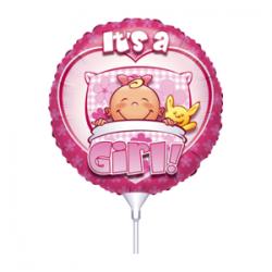 Μπαλόνι με καλαμάκι It's a Girl