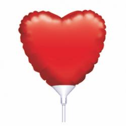 Μπαλόνι με καλαμάκι καρδιά