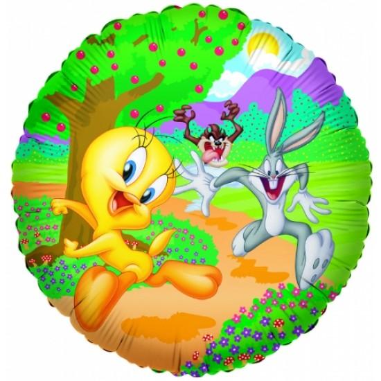 """18"""" στρογγυλό Looney Tunes"""
