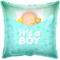 """18"""" τρετράγωνο It's a Boy"""