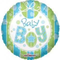 """18"""" στρογγυλό Baby Boy"""
