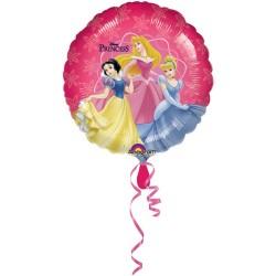 """18"""" στρογγυλό Disney Princess 2 πλευρές"""