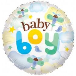 """24"""" στρογγυλό Baby Boy Clear View"""