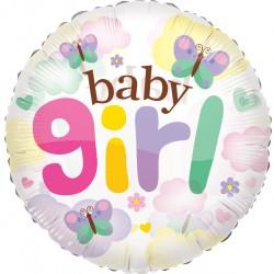 """24"""" στρογγυλό Baby Girl Clear View"""