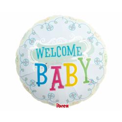 """14"""" στρογγυλό Welcome Baby"""