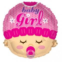"18"" Baby Girl head"