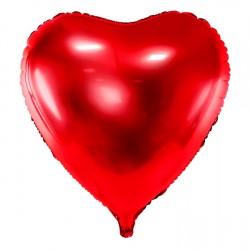 """30"""" foil Καρδιά  Κόκκινη"""