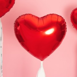 """18"""" foil Καρδιά  Κόκκινη"""