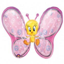 Foil Tweety Butterfly Super Shape