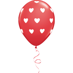 Love Latex Κόκκινο Μπαλόνι (1τμχ)