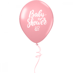 Baby Shower Latex GIRL (1τμχ)